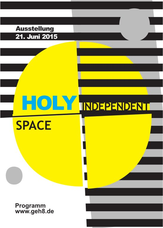 Holy Independent Space -flyer front